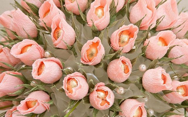 Как сделать своими руками букет роз