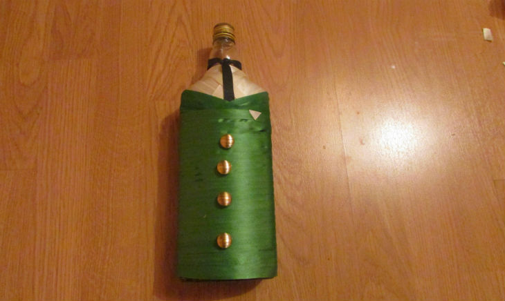 бутылка на 23 февраля