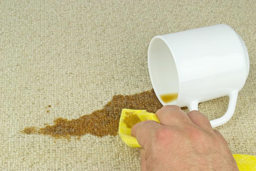 Как вывести старое пятно от чая с ковра фото