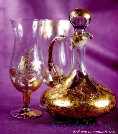 стаканы декор