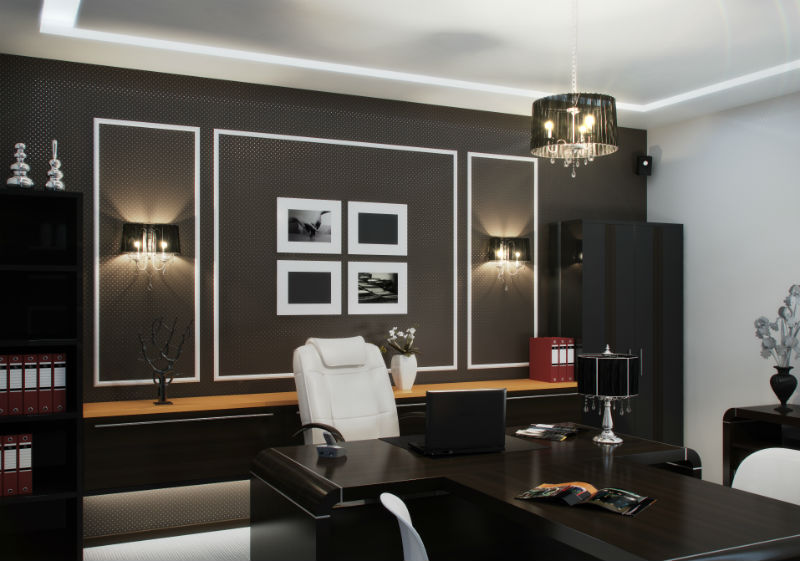 Создаем дизайн кабинета в доме
