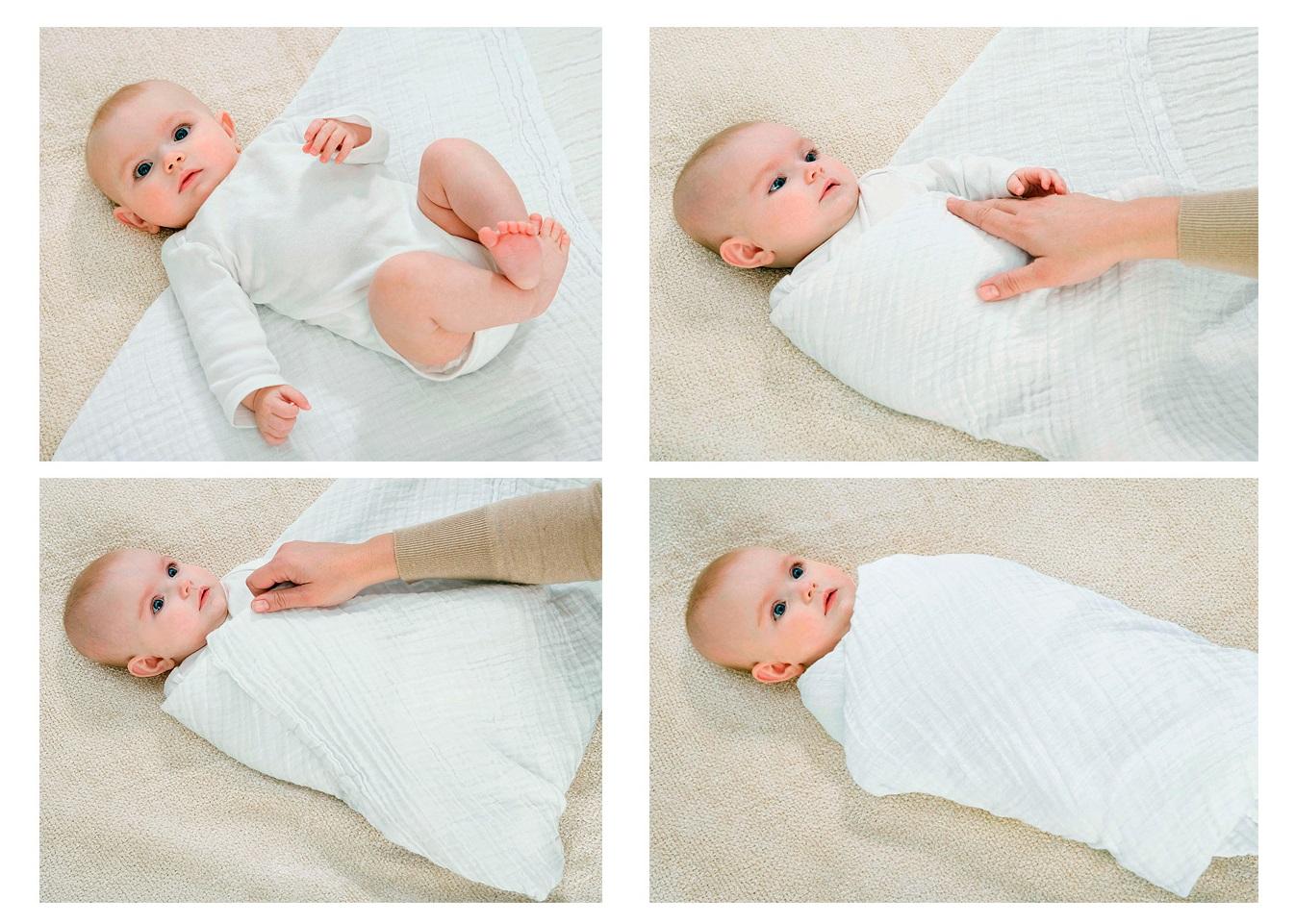 Как запеленать новорожденного в пеленку схема фото 846