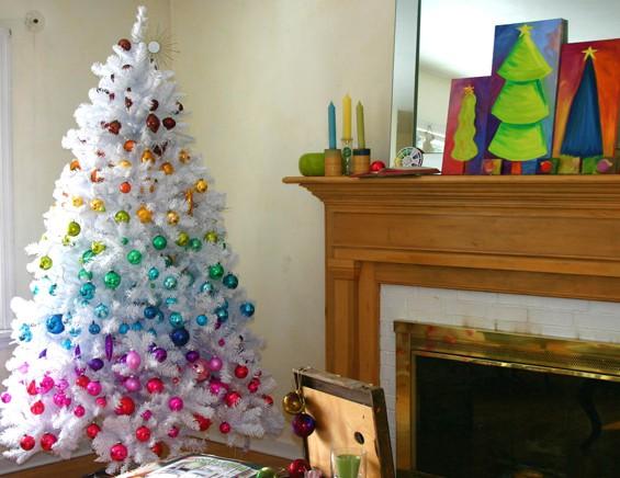 как украсить елку разными игрушками