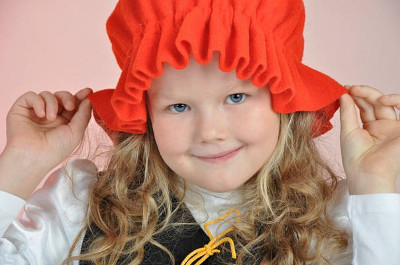 Красная шапочка для костюма своими руками 46