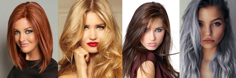 Подходящий цвет волос для бледной кожи