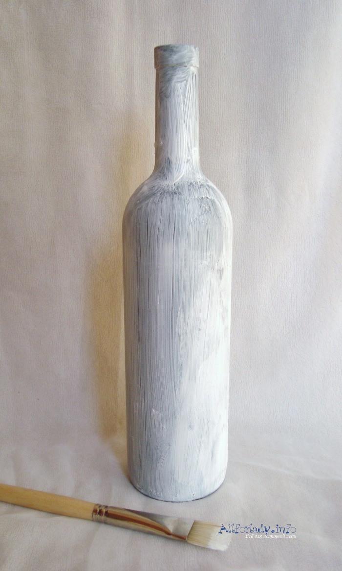 бутылка под декупаж
