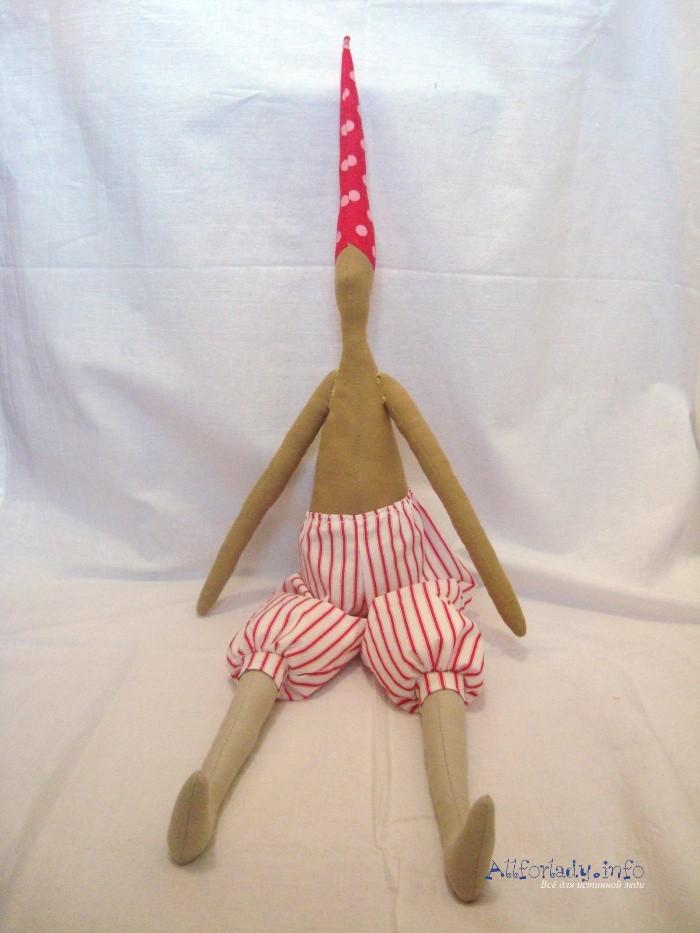 Как сделать тильда куклу своими руками.  Санта Клаус + выкройки и схемы.