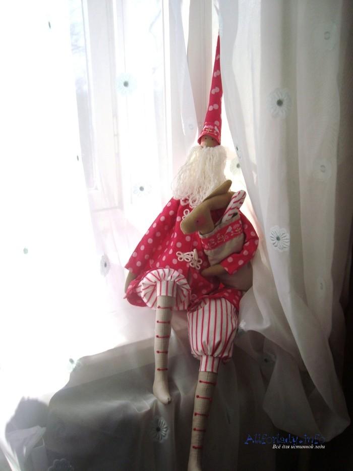 Санта клаус своими руками из бумаги
