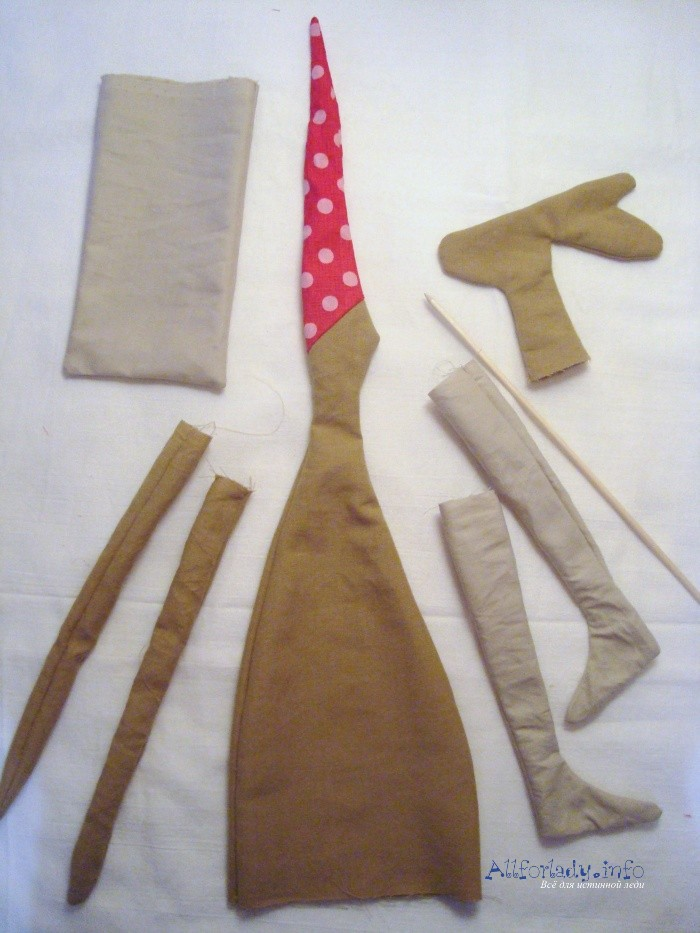Вязание мебели для куклы