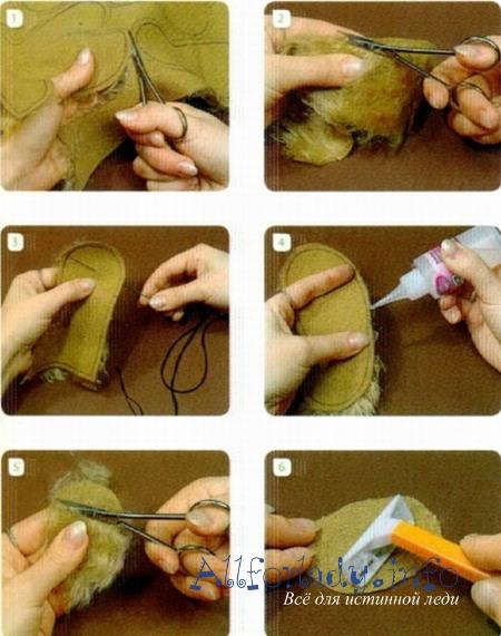 Подготовка к шитью