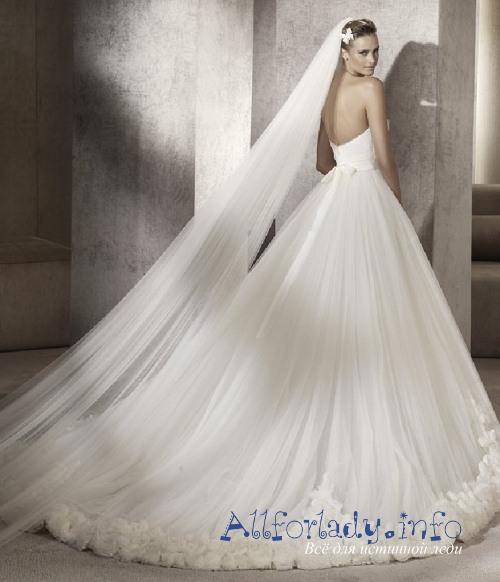 Пышные свадебные платья, картинки