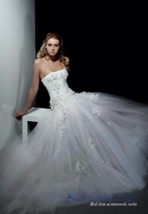 Пышные свадебные платья, фото