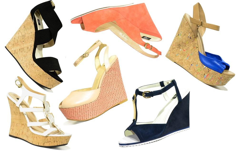 Фото летней обуви 2015