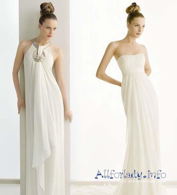 платья вечерние в греческом стиле