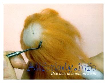 волосы приклеивание
