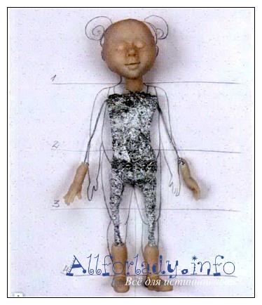 Как бы сделать куклы из пластики 56