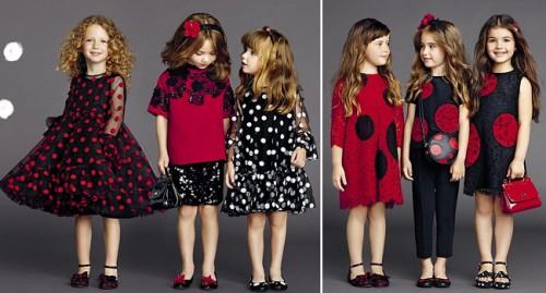 Детская мода для девочек 2015