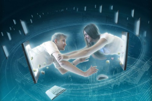 знакомство флирт и виртуальная любовь в интернете