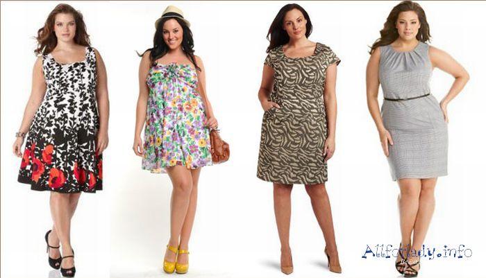 Какая летняя одежда для полных женщин