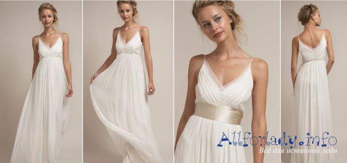 Греческое платье на выпускной фото