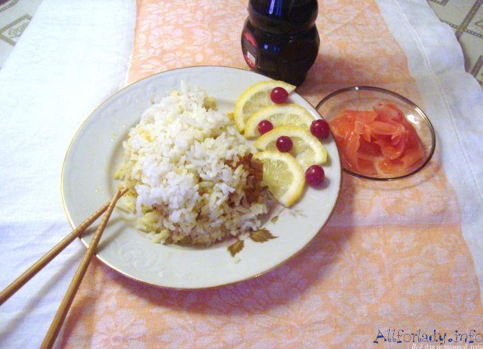 рецепт запекания рыбы с рисом в духовке