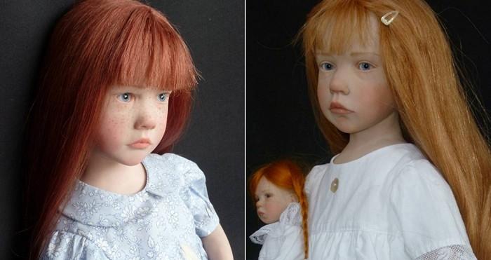 Кукла своими руками из запекаемого пластика. Мастер-класс