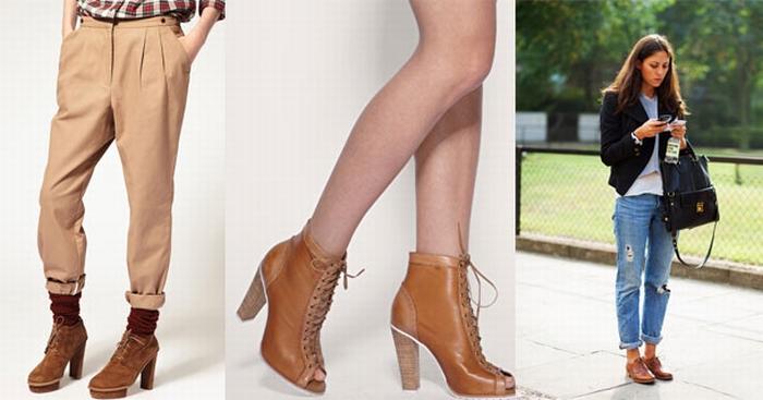 Ботинки с чем носить