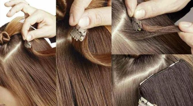 Можно ли покрасить искусственные волосы на заколках