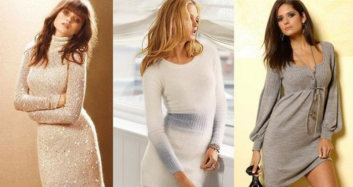 Покупая теплые и зимние платья (вязаные, платья из. шерсти или