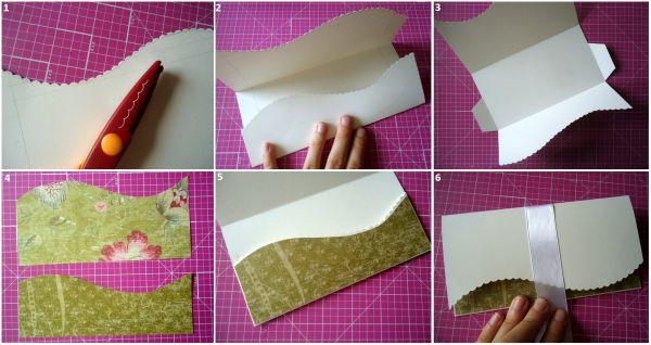 Сделать своими руками конверт денег
