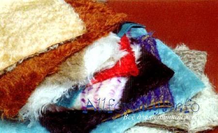 Ткань для плюшевого медведя