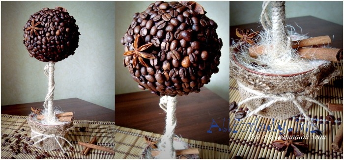Декоративный шарик своими руками