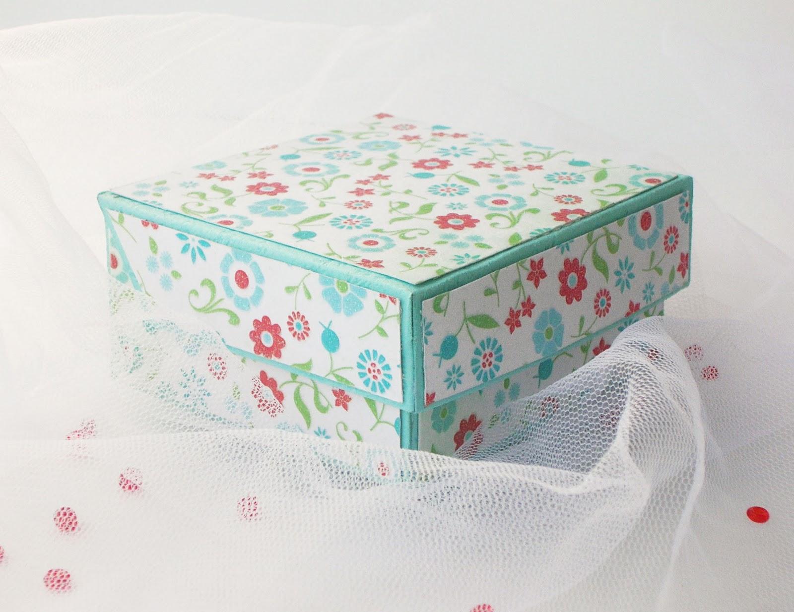 Как сделать подарочную коробку из коробки и подарочной бумаги