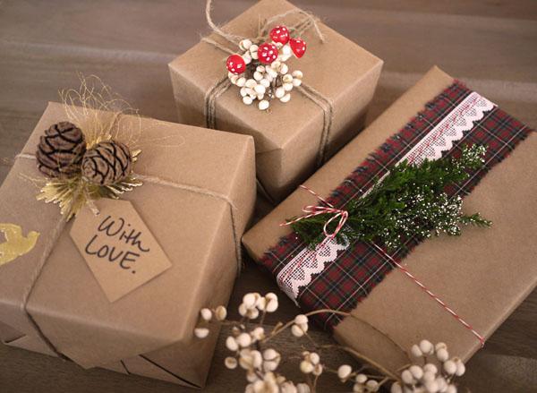 Коробки для подарков год на новы
